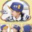 หมวกแก๊ป หมวกเด็กแบบมีปีกด้านหน้า ลายแลบลิ้น (มี 5 สี) thumbnail 4