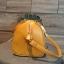 กระเป๋า KEEP sheep leather Pillow bag Classic Gold Yellow ราคา 1,490 บาท Free Ems thumbnail 3