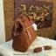 กระเป๋าเป้ ANELLO 2 WAY PU LEATHER BOSTON BAG (Regular)----- Camel Color thumbnail 3