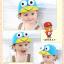 หมวกแก๊ป หมวกเด็กแบบมีปีกด้านหน้า ลายกบเคโระ (มี 5 สี) thumbnail 2