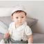 HT152••หมวกเด็ก•• / หมวกแก็ปแมวเหมียว (สีกะปิ) thumbnail 6