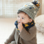 HT280••หมวกเด็ก•• / Flower [สีเทา] thumbnail 2