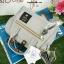 กระเป๋า Anello 2 Way Mini Boston Bag Light Grey สะพายข้างลำตัว thumbnail 6