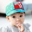HT369••หมวกเด็ก•• / หมวกแก็ป STAR (สีฟ้า) thumbnail 1