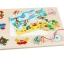ของเล่นไม้ ชุดตกปลา จิ๊กซอ Magnetic fishing puzzle board thumbnail 7