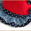HT478••หมวกเด็ก•• / หมวกปีกกว้าง-โบว์คู่ (สีส้ม) thumbnail 6