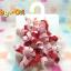 HP005••กิ๊บติดผมเด็ก•• / พู่หัวใจโทนสีชมพู (Gymboree) thumbnail 1