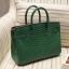 กระเป๋าทรงยอดฮิต สไตล์Birkin Crocodile Striped bag with accessories Available thumbnail 5