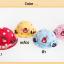 หมวกเด็กปีกกว้าง หมวกซันเดย์ ประดับปอยผม ลายกระต่ายน้อย (มี 3 สี) thumbnail 16