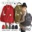กระเป๋า Anello rucksack nylon day pack back 2017 สี Khakhi ราคา 1,290 บาท Free Ems thumbnail 8