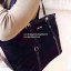 กระเป๋า MANGO Black Nylon Shopping Bag 2016 thumbnail 7