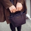 CHARLES & KEITH MINI HANDBAG กระเป๋าถือสะพายวัสดุหนัง Saffiano สวยหรูอยู่ทรง thumbnail 4