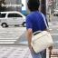 กระเป๋าเป้ ANELLO 2 WAY PU LEATHER BOSTON BAG (Regular)-----Ivory Color thumbnail 1