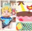 AP131••เซตหมวก+ผ้ากันเปื้อน•• / [สีเหลือง+ฟ้า] ปลา thumbnail 2