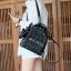 KEEP genuine Leather Mini Chic Backpack Classy Black #ใบนี้หนังแท้เลยค่ะ thumbnail 7
