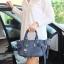 กระเป๋า KEEP Longchamp Duo Sister With Strap สีน้ำเงิน thumbnail 5