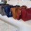 กระเป๋า Amory Leather Everyday Tote Bag สีแดง กระเป๋าหนังแท้ทั้งใบ 100% thumbnail 12