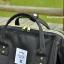 กระเป๋า ANELLO X PAGEBOY สีดำ Regular size สีใหม่ วัสดุ Polyester canvas สลับหนังกลับ ปากกระเป๋าเปิดปิดด้วยซิปคู่และม thumbnail 3