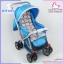 รถเข็นเด็ก 2 ทิศทาง รับเองนอนได้ ATTOON สีฟ้า thumbnail 4