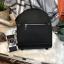 กระเป๋าสะพายเป้ ZARA Sturby Backpack With Zips 2017 สไตล์ PRADA สีดำ thumbnail 1