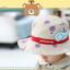 HT497••หมวกเด็ก•• / หมวกปีกกว้าง-บอลลูน (สีเบจ) thumbnail 3
