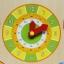 ของเล่นไม้เรียนรู้เวลา ตั้งแต่นาทีจนถึงฤดูกาลใน 1 ปี แบบปฏิทิน Wooden Daily Calendar Clock Board Toy thumbnail 7