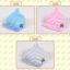 หมวกแก๊ป หมวกเด็กแบบมีปีกด้านหน้า ลายขวาง Twinkle (มี 5 สี) thumbnail 8