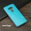เคส Zenfone 3 Deluxe (ZS570KL) เคสหนัง + แผ่นเหล็กป้องกันตัวเครื่อง (บางพิเศษ) สีฟ้าอมเขียว thumbnail 2