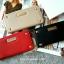 กระเป๋าสตางค์ Mango Saffiano Effect Wallet with Studded หนังสุดหรู New Collection 2015 ยี่ห้อ MANGO แท้ รุ่น Studded Wallet พร้อมส่ง รุ่นนี้ออกแบบให้หรูหราด้วยหนัง Saffiano ที่ยอดนิยมในยุคนี้ค่ะ ด้านหน้าเก๋ไก๋ โดดเด่นด้วยมุกทั้งสี่ด้านแบบเพชร และตรงกลางปร thumbnail 1