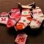 ถุงเท้าเด็กเล็ก หญิง 1-3 ปี มีกันลื่น พิมพ์ลายการ์ตูน แบรนด์ญี่ปุ่น thumbnail 8