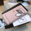 NEW! LYN Long Wallet กระเป๋าสตางค์ใบยาวซิปรอบรุ่นใหม่ล่าสุดวัสดุหนัง Saffiano สวยหรูสไตล์ PRADA ด้านหน้าประดับลายใบไม้ดูมีดีเทล thumbnail 4