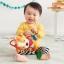 ตุ๊กตาโมบายผ้าเสริมพัฒนาการ รูปสิงโต SKK Baby รุ่น BANDANA BUDDIES activity toy - Lion thumbnail 2