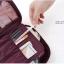 กระเป๋าอเนกประสงค์พกพาสะดวก สำหรับใส่อุปกรณ์เครื่องสำอาง อุปกรณ์ห้องน้ำ หรือสิ่งของจำเป็นอื่นเพื่อการเดินทาง ทำจากไนล่อนกันน้ำคุณภาพดี thumbnail 7