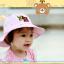 HT486••หมวกเด็ก•• / หมวกปีกกว้าง-DH (สีชมพู) thumbnail 3