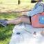 กระเป๋าช้อปปิ้งพับเก็บได้ ผ้าหนา สีสันสดใส ผลิตจากโพลีเอสเตอร์กันน้ำ คุ้มค่า (Street Shopper Bag) thumbnail 18