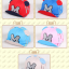หมวกแก๊ป หมวกเด็กแบบมีปีกด้านหน้า ลาย M (มี 5 สี) thumbnail 2