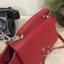 กระเป๋าถือหรือสะพาย CHARLES & KEITH MINI PUSH-LOCK TRAPEZE BAG 2017 สีแดง thumbnail 3