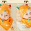 เซตหมวก+ผ้าซับน้ำลาย / ลายแมว (มี 5 สี) thumbnail 12