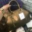 กระเป๋าถือ/สะพาย แบรนด์ Berke ทรง Office hand bag ผิวสัมผัสคล้ายหนังแท้ ลายหนังชัด สวยเวอร์ thumbnail 2