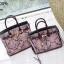 กระเป๋าถือสะพายหนังแท้ สองขนาด ลายงานหนังวัวแท้ สีทูโทน (Leather100%) thumbnail 14