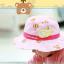 HT499••หมวกเด็ก•• / หมวกปีกกว้าง-บอลลูน (สีชมพู) thumbnail 3