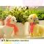 ตุ๊กตาอัลปาก้า รุ่นผ้าพันคอลายสก๊อต 30 cm thumbnail 3