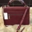 กระเป๋า CHARLES & KEITH PUSHLOCK HANDBAG Burgundy thumbnail 2