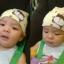 หมวกเด็กอ่อนเกาหลี ลายหมี สำหรับเด็กวัย 3 - 12 เดือน thumbnail 3