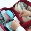 กระเป๋าใส่ชุดชั้นใน กางเกงชั้นใน ขนาดใหญ่พิเศษ แบ่งช่องสองด้าน ใส่ได้หลายตัว มี 4 สี 4 ลาย thumbnail 24