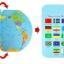 ของเล่นจับคู่ แผนที่โลก+ธงประจำชาติ ขนาด 47*29*0.8 cm thumbnail 4