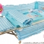 เตียงไม้โยกได้ FARIN สีเบจ ขนาด 62x110x93 cm thumbnail 6