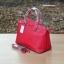 กระเป๋า MANGO SAFFIANO-EFFECT TOTE BAG สีแดง ราคา 1,090 บาท Free Ems thumbnail 2