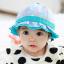 HT480••หมวกเด็ก•• / หมวกปีกกว้าง-กระต่าย (สีฟ้า) thumbnail 1