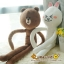 ตุ๊กตาไลน์แขนขายาว Brown & Cony thumbnail 1